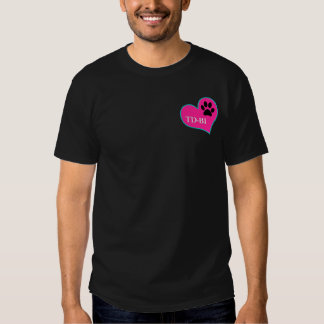 [Personalized T - for dark color shirts] T-shirt