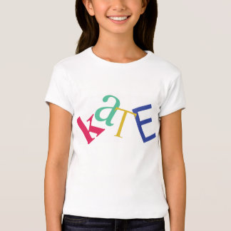 "Personalized T-Shirt, ""KATE"" T-Shirt"