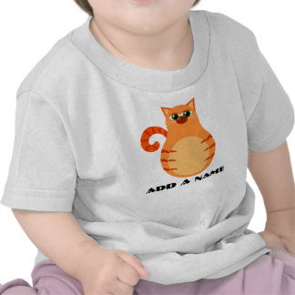 Personalized Tabby Cat Baby T-shirt