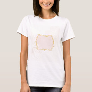Personalized tag on Pale Pink T-Shirt