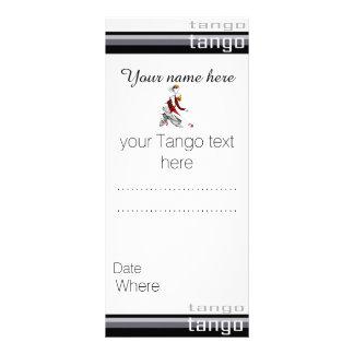 Personalized Tango Rack Card
