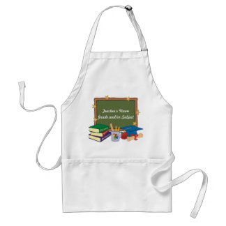 Personalized Teacher Adult Apron
