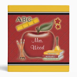 Personalized Teacher Album Binders