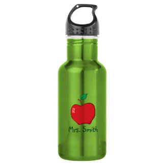 Personalized Teacher Apple Liberty Bottle