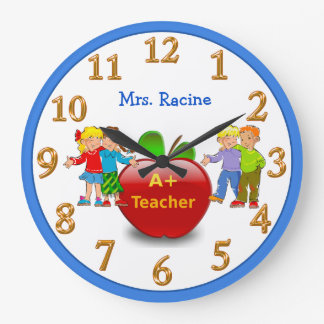 PERSONALIZED Teacher Appreciation Gifts CLOCK