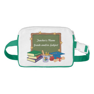 Personalized Teacher Chalkboard Stars Fanny Pack