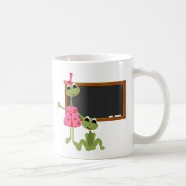 Coffee Themed Personalized Teacher Coffee Mug-Chalkboard Coffee Mug