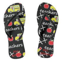Personalized Teacher  Flip Flops