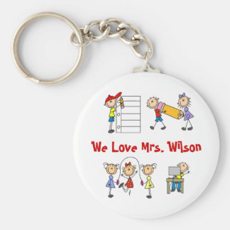 Personalized Teacher Gifts Keychain