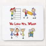 Personalized Teacher Gifts Mouse Pads