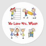 Personalized Teacher Gifts Stickers