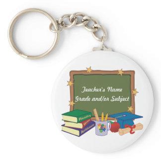Personalized Teacher Keychain