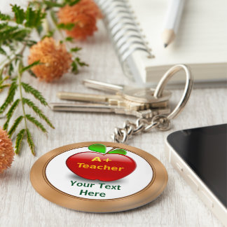 Personalized Teacher Keychains No Minimum or BULK