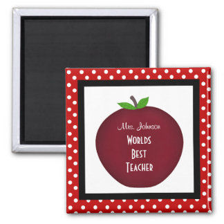 Personalized Teacher Magnet
