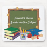 Personalized Teacher Mouse Pad