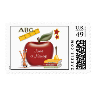 Personalized Teacher Stamp