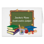 Personalized Teacher Stationery Note Card