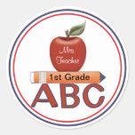 Personalized Teacher Sticker