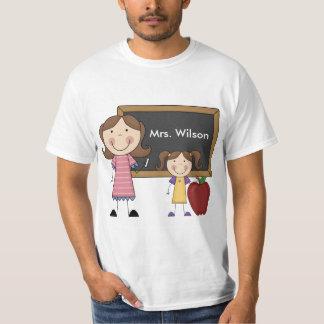 Personalized Teacher Value T-Shirt