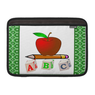 Personalized Teacher's ABC's Sleeves For MacBook Air