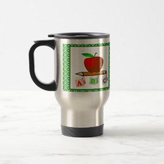 Personalized Teacher's ABC's Travel Mug
