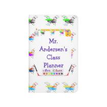 Personalized Teachers Art Class Pocket Journal