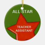 Personalized Teacher's Assistant Ornament