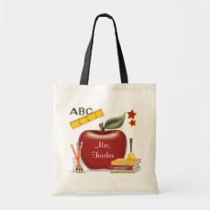 Personalized Teacher's Bag at Zazzle