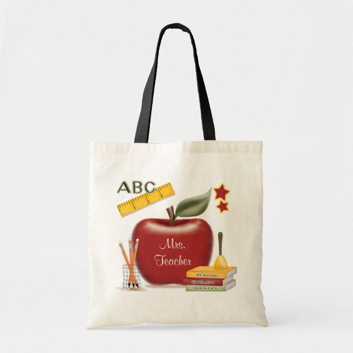 Personalized Teacher's Bag