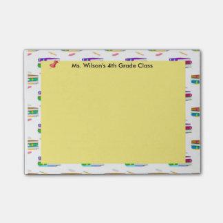 Personalized Teachers Books Pencil Paper Post-it® Post-it® Notes