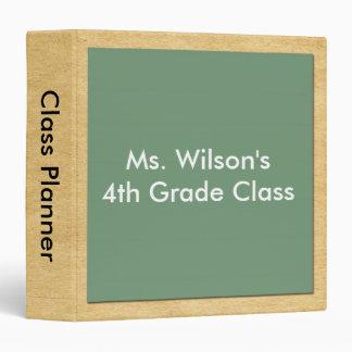 Personalized Teachers Brown Bag Chalkboard Planner Binders