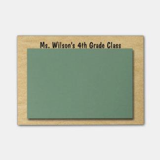 Personalized Teachers Brown Bag Chalkboard Post-it Post-it® Notes