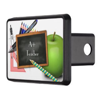 Personalized Teacher's Chalkboard Hitch Cover