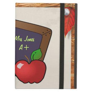Personalized Teacher's Chalkboard iPad Air Case