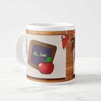 Personalized Teacher's Chalkboard Large Coffee Mug
