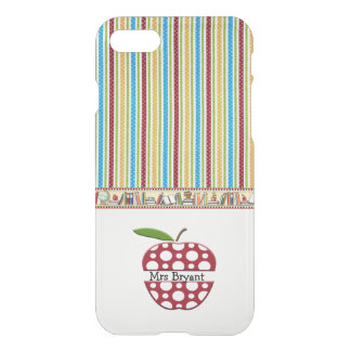 Personalized teacher's iphone 7 case