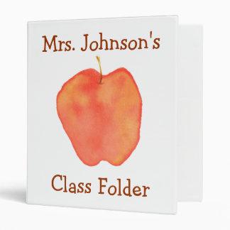 Personalized Teaching Folder Binder
