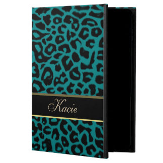 Personalized Teal Animal Leopard iPad Air 2 Case Powis iPad Air 2 Case