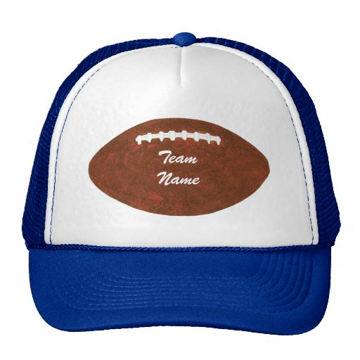 Personalized Team Name Football Hats