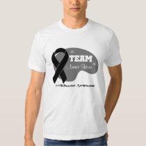 Personalized Team Name - Melanoma Tee Shirt