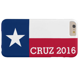 Personalized Ted Cruz 2016 Flag of Texas Barely There iPhone 6 Plus Case