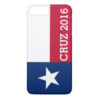 Personalized Ted Cruz 2016 Flag of Texas iPhone 7 Plus Case