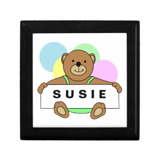 Personalized Teddy Bear Keepsake Box