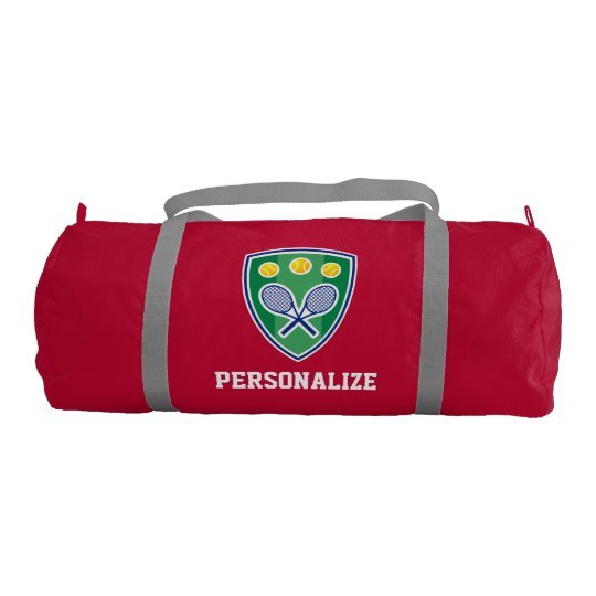8cf06d8449 Personalized tennis bag for player or sports coach