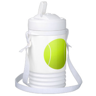 Personalized Tennis Ball Custom Text Water Cooler