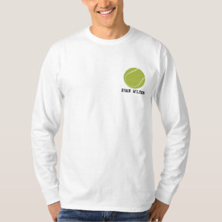 Personalized Tennis Ball embroidered Shirt