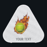 """Personalized Tennis Ball on Fire Tennis Theme Gift Speaker<br><div class=""""desc"""">Personalized Tennis Ball on Fire Tennis Theme Gift</div>"""