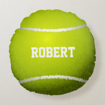 Personalized Tennis Ball Pillow