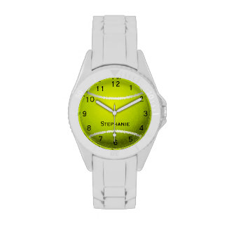 Personalized Tennis Ball Watch