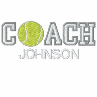 Personalized Tennis Coach Hoodie
